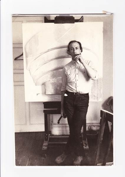 Richard Hamilton with Guggenheim relief